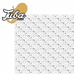 Music: Tuba Player 2 Piece Laser Die Cut Kit