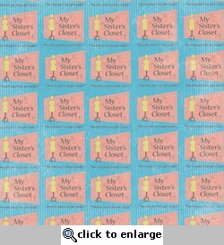 1SYT My Sister's Closet 12 x 12 Double-Sided Paper
