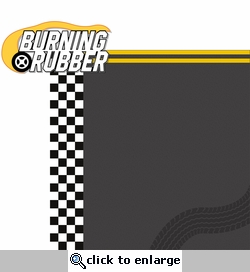 Nascar: Burning Rubber 2 Piece Laser Die Cut Kit