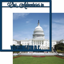 Nation's Capital: Adventures in D.C. 12 x 12 Overlay Quick Page Laser Die Cut