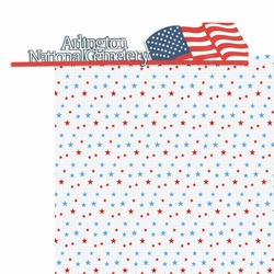 Nation's Capital: Arlington National Cemetery 2 Piece Laser Die Cut Kit