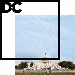 Nation's Capital: Capitol Building 12 x 12 Overlay Quick Page Laser Die Cut
