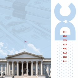 Nation's Capital: US Treasury 12 x 12 Paper