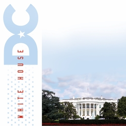 Nation's Capital: White House 12 x 12 Paper