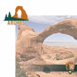 National Parks: Arches 2 Piece Laser Die Cut Kit