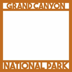 2SYT National Parks: Grand Canyon 12 x 12 Overlay Laser Die Cut