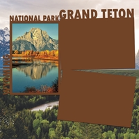 National Parks: Grand Teton Panorama