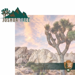 National Parks: Joshua Tree 2 Piece Laser Die Cut Kit
