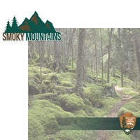 National Parks: Smoky Mountains 2 Piece Laser Die Cut Kit