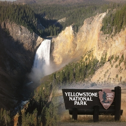 National Parks: Yellowstone 12x12 Paper