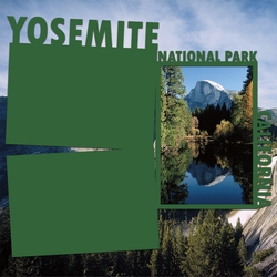 National Parks: Yosemite Panorama