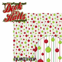 Naughty or Nice: Deck The Halls 2 Piece Laser Die Cut Kit