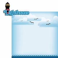 Nautical: Lighthouse 2 Piece Laser Die Cut Kit