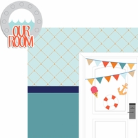 Nautical: Our Room 2 Piece Laser Die Cut Kit