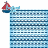 Nautical: Sun Sand Sea 2 Piece Laser Die Cut Kit