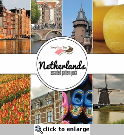 Netherlands Assorted 12 x 12 Paper Pack