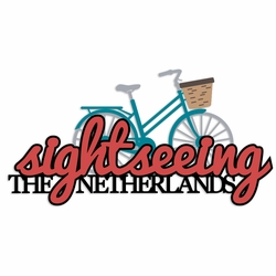 Netherlands: Sightseeing Laser Die Cut