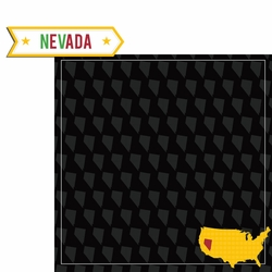 2SYT Nevada Travels: NV label 2 Piece Laser Die Cut Kit