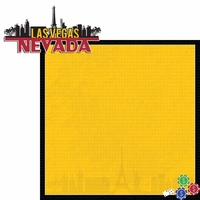 Nevada Travels: NV Las Vegas 2 Piece Laser Die Cut Kit
