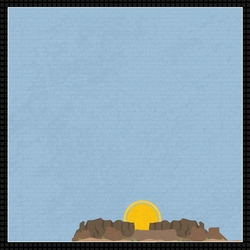 Nevada Travels: NV silver state 12 x 12 Paper