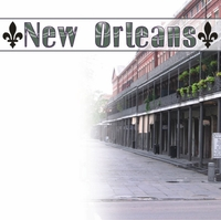 New Orleans Street 12 x 12 Paper