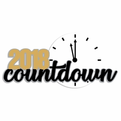 2SYT New Year: 2018 Countdown Laser Die Cut