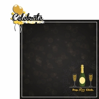 New Year Countdown: Celebrate 2 Piece Laser Die Cut Kit