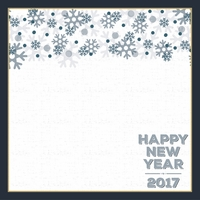 New Years 2017: My Resolution 12 x 12 Paper