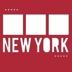 New York 12 x 12 Overlay Laser Die Cut