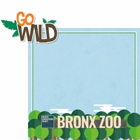 New York: Bronx Zoo 2 Piece Laser Die Cut Kit