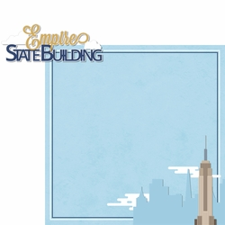 New York: Empire State Building 2 Piece Laser Die Cut Kit