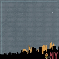 New York Travels: NY City Never Sleeps 12 x 12 Paper