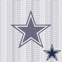 NFL Fanatic: Dallas Cowboys 12 x 12 Paper