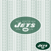 NFL Fanatic: New York Jets 12 x 12 Paper