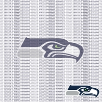 NFL Fanatic: Seattle Seahawks 12 x 12 Paper