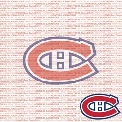 NHL Fanatic: Montreal Canadiens 12 x 12 Paper