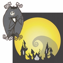 2SYT Nightmare Before Christmas: Jack 2 Piece Laser Die Cut Kit