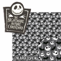 Nightmare Before Christmas: Title 2 Piece Laser Die Cut Kit
