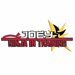 Ninja: Custom In Training Laser Die Cut