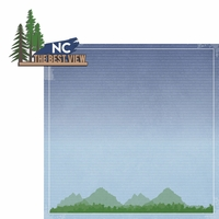 North Carolina Travels: NC Best View 2 Piece Laser Die Cut Kit