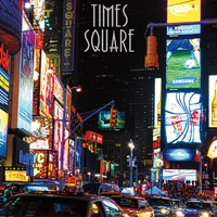 Northeast: Times Square 12 x 12 Paper