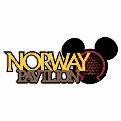 Norway Pavilion Laser Die Cut