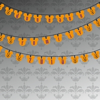 Not So Scary Boo Lights Custom 12 x 12 Paper