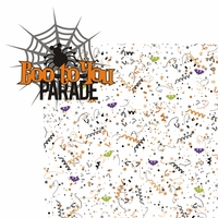 Not So Scary: Boo To You Parade 2 Piece Laser Die Cut Kit
