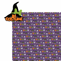 Not so Scary: In Costume 2 Piece Laser Die Cut Kit