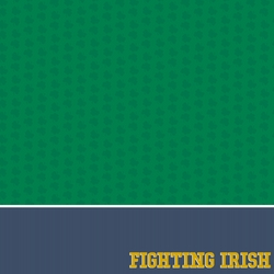 Notre Dame: Fighting Irish 12 x 12 Paper
