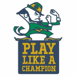 Notre Dame: Play like Laser Die Cut
