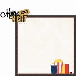 Now Playing: Movie Night 2 Piece Laser Die Cut Kit