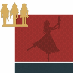 Nutcracker: Dancing 2 Piece Laser Die Cut Kit