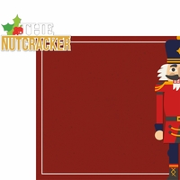 Nutcracker: The Nutcracker 2 Piece Laser Die Cut Kit
